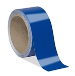 Blue Reflective Tape - Self Adhesive Engineer Grade Available in 1, 2, 3, 4 widths X 10 or 50 yard rolls