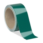 Green Pressure Sensitive Reflective Tape - Engineer Grade Available in 1, 2, 3, 4 widths X 10 or 50 yard rolls
