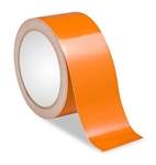 Orange Reflective Tape - Engineer Grade Available in 1, 2, 3, 4 widths X 10 or 50 yard rolls