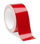 Self Adhesive Red Reflective Safety Tape - Engineer Grade Available in 1, 2, 3, 4 widths X 10 or 50 yard rolls