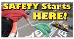 Safety Starts Here, Safety Banners and Posters, Choose from 6 sizes