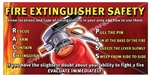 Fire Extinguisher, Safety Banners and Posters, Choose from 6 sizes