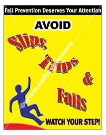 how to avoid slip trips and falls
