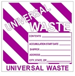 BIOHAZARD Shipping Label 4 X 4 - Choose Package of 25 Pressure Sensitive Vinyl or Roll of 500 Self Adhesive Paper labels