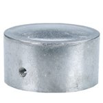 FLAT CAP FOR 2-3/8 inch ROUND SIGN POST