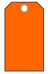 BLANK ORANGE, Tags - Available in Card Stock or Vinyl