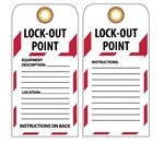 LOCK OUT POINT - Accident Prevention Lockout Tags