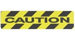 High Visibility 6 X 24 Non Skid Anti Slip CAUTION Traction Treads, Die-cut treads for stairs, walkway and ramps